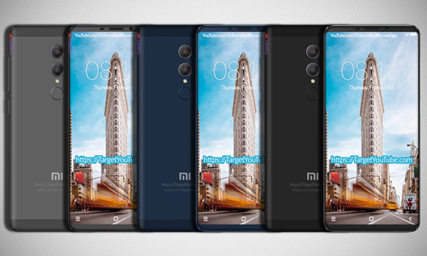 Des fuites illustrant la conception et les specifications de Xiaomi Redmi Note 5